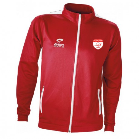 Veste SPIDO Rouge + Logo Club